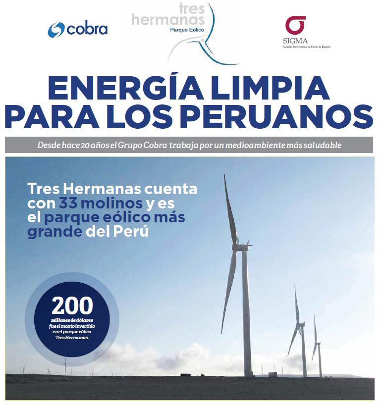 Energía Limpia para los peruanos